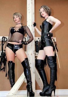 2 gothic subs latex 2 long thick cocks amp sperm 6