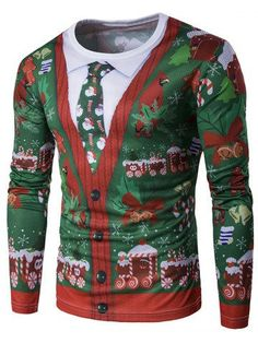 GET $50 NOW | Join RoseGal: Get YOUR $50 NOW!http://m.rosegal.com/men-s-long-sleeves/crew-neck-3d-christmas-tie-914048.html?seid=7555423rg914048