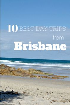 If you are staying at the Gold Coast you may want to check out Brisbane, the capital city of Queensland - 10 Best Day Trips from Brisbane - from beaches to national parks and everything in between Brisbane City, Visit Australia, Queensland Australia, Australia Travel, Western Australia, Australia 2017, South Australia, Brisbane Beach, Brisbane To Cairns