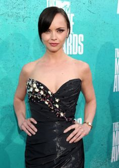 Christina Ricci wears Timex Watch Dress to 2012 MTV Movie Awards