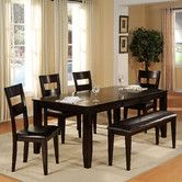 $401- dark cherry- Found it at Wayfair - Extendable Dining Table