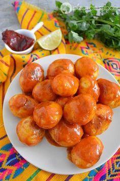 Cómo hacer papas al chipotle o o papas adobadas picosas www.pizcadesabor.com