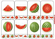 Summer Activities For Kids, Book Activities, Preschool Activities, Games For Kids, Watermelon Activities, Fruit Crafts, Summer Words, Autism Classroom, Kindergarten Math