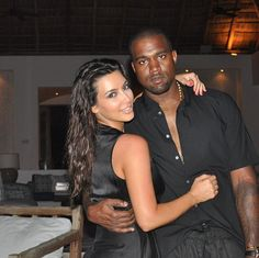 "Pregnant Kim Kardashian Calls Kanye West ""Love of My Life"" On His Birthday!"