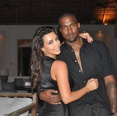 "Pregnant Kim Kardashian Calls Kanye West ""Love of My Life"" On His Birthday!"