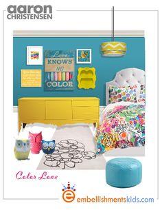 girls, bedroom, mood board, inspirational, ideas, love knows no color, art, wall art, Aaron Christensen,