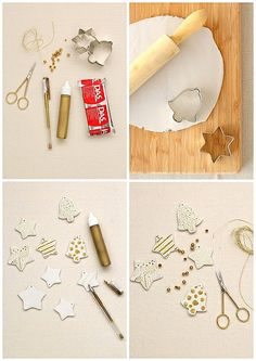 DIY gift tags by cafe noHut