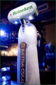 Heineken extra cold | Beer World | Pinterest | Ice, Taps ...