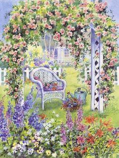 rose_trellis_wicker_chair_kittens2 (325x432, 53Kb)