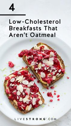 Oatmeal is great for lowering your cholesterol, but it can get a little boring. Here, an RD suggests four other healthy, low-cholesterol breakfast recipes to try. #GreenCoffeeBeanTabletsForWeightLoss