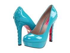 Betsey Johnson Ditan. O M G. And of course they don't have them in my size!!