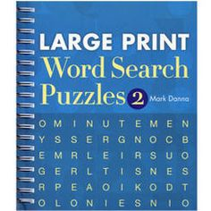 STERLING PUBLISHING Large Print Word Search Puzzles- Number 2 (479030) January Bullet Journal, Sterling Publishing, Word Search Puzzles, Puzzle Books, Large Prints, Periodic Table, Sayings, Number 2, Periotic Table