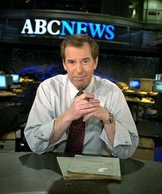 Peter Jennings, Canadian-born news anchor (b. 1938) died on August 7, 2005