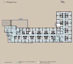 Bildergebnis für betreutes wohnen grundriss Assisted Living, Floor Layout, Pictures