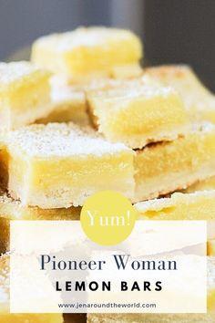 Lemon Dessert Recipes, Köstliche Desserts, Lemon Recipes, Sweet Recipes, Baking Recipes, Easter Recipes, Desserts With Lemon, Healthy Lemon Desserts, Desserts With Few Ingredients