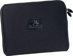 Neoprene Laptop Sleeve. Constructed with the same quality as our neoprene laptop sleeve but with sturdy handles and a padded handle wrap closure. Offered in the 3 popular sizes and lightweight enough to carry your laptop anywhere without being weighed down. See Strong Leather Product #'s 4813, 4814, 4815, 4816 ,4817, 4818 for different sizes and options.