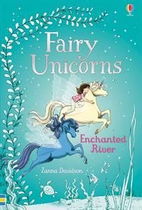 """""""Fairy Unicorns Enchanted River"""" at Usborne Books at Home Organisers Reading Story Books, Kids Story Books, Enchanted River, Wind Charm, Unicorn Island, Forest Book, Unicorn Books, Children's Book Illustration, Book 1"""