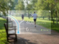 Google Glass - Running App (WIP)