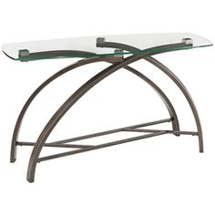 Frisco Brushed Bronze Rectangular Sofa Table