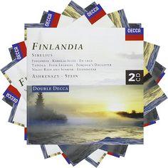 Jean Sibelius Finlandia  Elisabeth Söderström, soprano  Philarmonia Orchestra Vladimir Ashkenazi  L'Orchestre de la Suisse Romande dir. Horst Stein  Decca, 1997