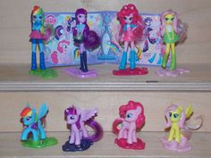 My Little Pony + EquestRia Girls  D  2015  Komplettsatz + 1  BPZ Deutsch
