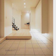 riakanaさんの、玄関/入り口,モノトーン,鉄骨階段,イナズマ階段,信楽焼洗面ボウル,JIMBOスイッチ,シンプルモダンに憧れる,人大カウンター,のお部屋写真