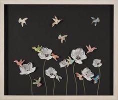 """Saatchi Art Artist Natasha Sorelli; Collage, """"Midnight Feast"""" #art"""