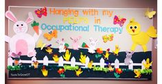 Easter Spring Bulletin board