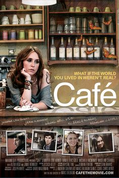 """Cafe - a modern day """"who done it"""" movie. It is a little weird but interesting. Watch it via Netflix. #tripledogdare"""