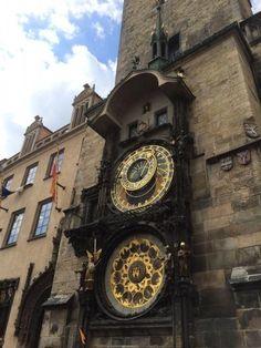 The #Astronomical #Clock in #Prague #CzechRepublic  천문시계 -byrapperkjm