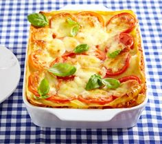 Lasagne mit Hähnchenragout