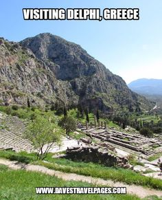 Delphi is a must-see site when visiting Greece. Here are some travel tips on how to make the most of your time there.