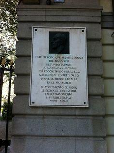 Publicamos  el Palacio de Liria.  #historia #turismo http://www.rutasconhistoria.es/loc/palacio-de-liria
