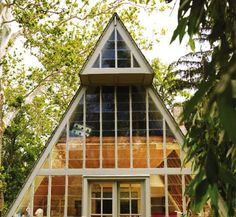 As far as I'm concerned, this is just another awesome version of a tent.  From the top, a philadelphia art studio , the Weeks house (an...