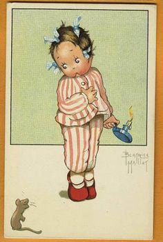 Beatrice MALLET postcard via eBay