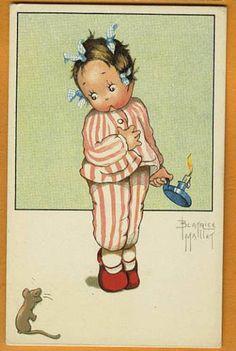 Beatrice MALLET postcard via eBay