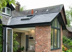 We offer Tiled Roof Orangeries in a range of colours & finishes to match your Hampshire home. View our range of Solid Tiled Roof Orangery designs online. Orangery Extension Kitchen, Orangerie Extension, Conservatory Extension, Kitchen Diner Extension, House Extension Plans, House Extension Design, Extension Designs, Side Extension, Extension Ideas