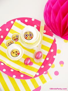 Emoji party printables