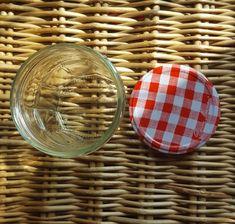 Empty Jars 3 x Bonne Maman Red Gingham Lids Red Gingham, Empty, Jars, Pots, Jar, Vases, Red Umbrella, Glass Jars, Mason Jars