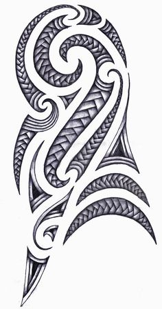 Shoulder tattoo - Maori