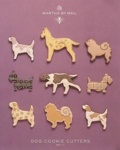 Martha by Mail Cookie Cutters