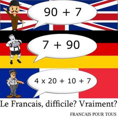 Yeah... What the heck french numbers?