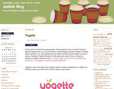 Jeddah Blog post review about yogette frozen yogurt and bubble tea