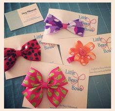 Omg, the cutest little baby girl bows. 😍  https://www.etsy.com/shop/LittleBeanBows