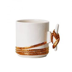 Imm Living Anchors Aweigh Dock Cleat Mug//