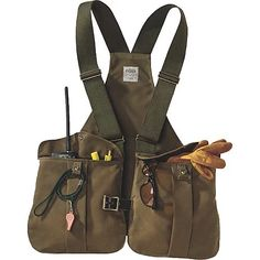 To know more about Filson TIN CLOTH GAME BAG, visit Sumally, a social network that gathers together all the wanted things in the world! Featuring over 364 other Filson items too! Leather Backpack, Leather Bag, Fishing Vest, Fly Fishing, Chest Rig, Outdoor Apparel, Outdoor Wear, Camping Outfits, Canvas Leather