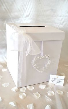 Wedding Gift Receiving Box : wedding cards box search box ebay post boxes grey wedding wedding ...