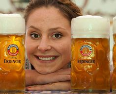 (19th Sept. - 6th October) Beer. Bratwurst. Bavarian Barmaids. The perfect combination.