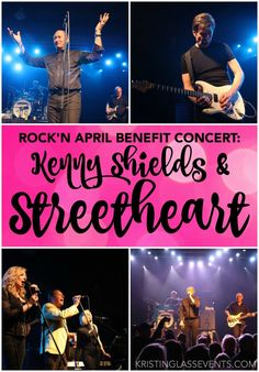 Rock'n April Benefit Concert featuring Kenny Shields & Streetheart took place on April 2016 in St. Benefit, Group Photos, Rock Bands, Event Planning, My Favorite Things, Concert, Music, Movie Posters, Group Pictures