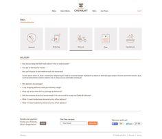 Great looking FAQ UI design.
